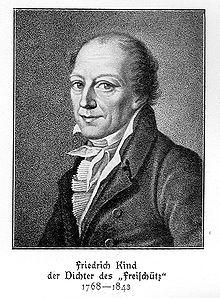 Johann Friedrich Kind. (Source: Wikimedia)