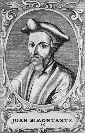 Johannes Baptista Montanus - Image: Johannes Baptista Montanus
