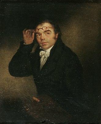 John Crome - Portrait of John Crome, by Michael William Sharp