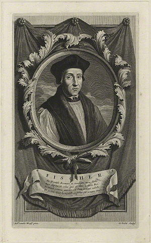 John Fisher - John Fisher by Gerard Valck, after Adriaen van der Werff, 1697.