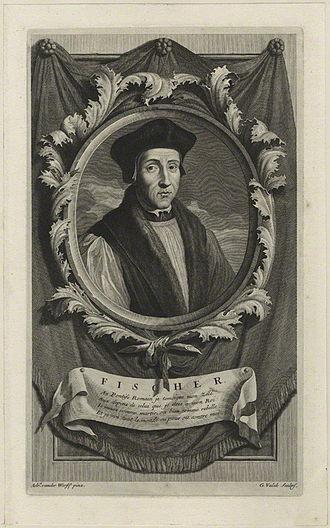 John Fisher - John Fisher by Gerard Valck, after Adriaen van der Werff, 1697.