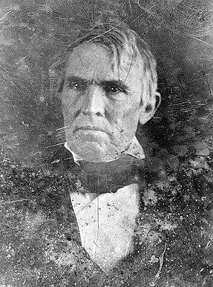 John J. Crittenden - Daguerreotype of John J. Crittenden, c. 1846. By Mathew Brady.