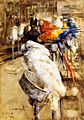 Joseph Crawhall, 1888 - The Aviary, Clifton.jpg