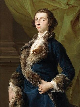 Joseph Leeson, 2nd Earl of Milltown - Joseph Leeson 2nd Earl of Milltown by Pompeo Batoni in 1751