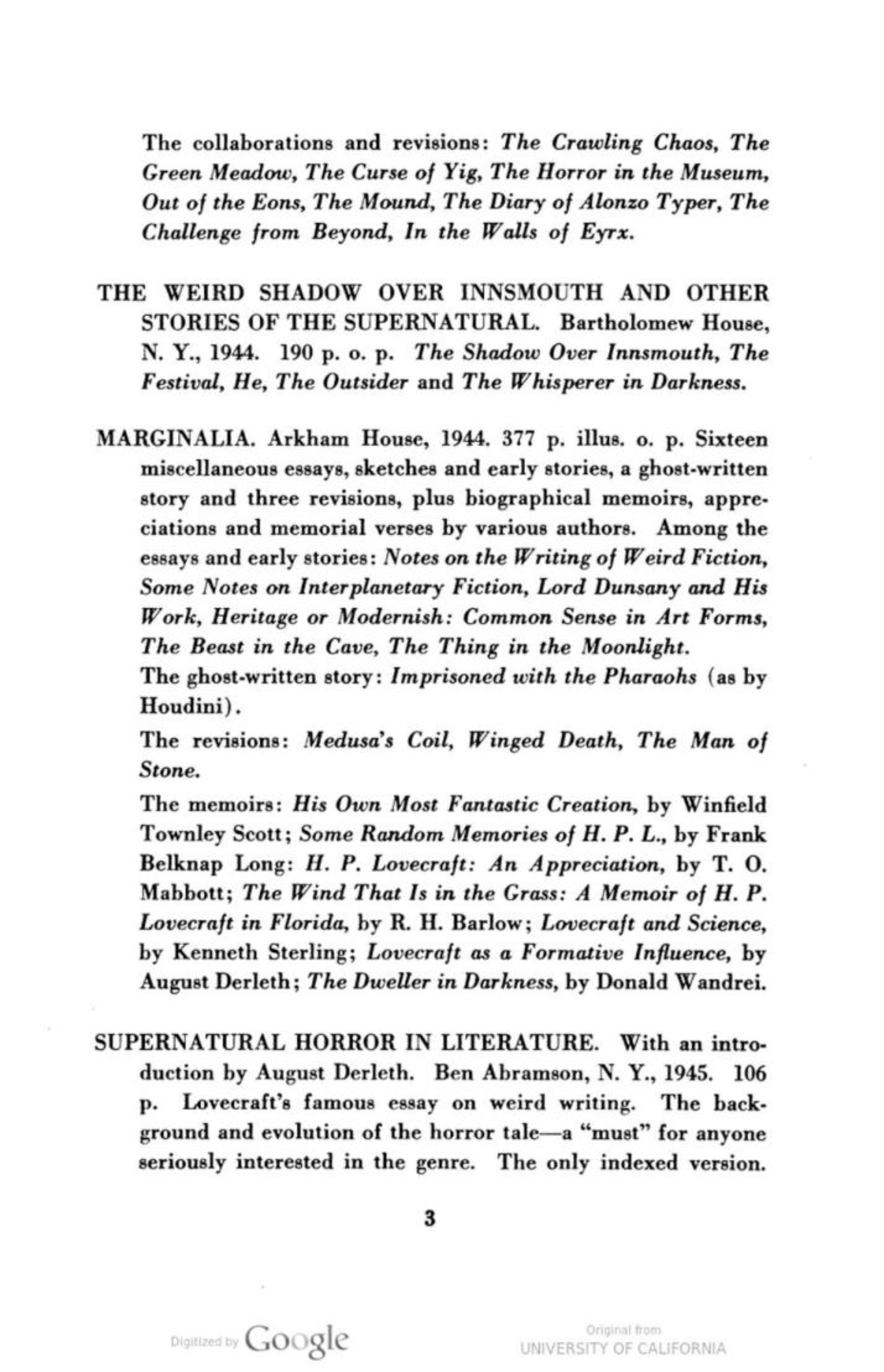 page joseph payne brennan h p lovecraft a bibliography pdf 7 spaces