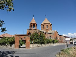 Surp Katoghike church of Jrvezh, opened in 1891
