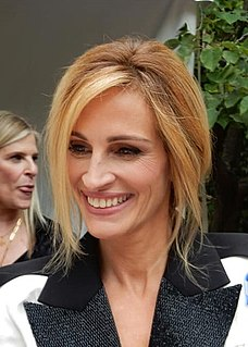Julia Roberts American actress and producer