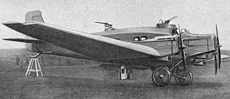 Junkers G 24 - Junkers R 42 photo from L'Aéronautique October,1926