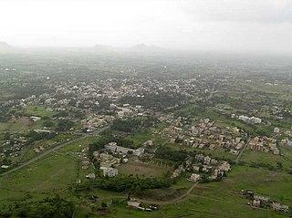 Junnar city in Maharashtra, India