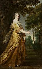 Portrait of Marie Louise Gonzaga de Nevers.