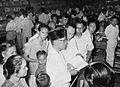Jusuf Wibisono looking at political books, Tambahan dan Pembetulan Pekan Buku Indonesia 1954, p73.jpg