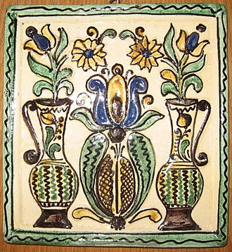 Székelys - Székely pottery (stove tile)