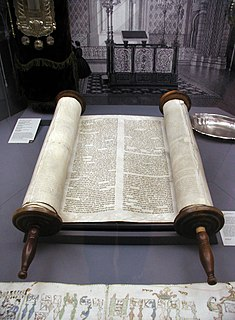 Torah First five books of the Hebrew Bible