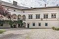 Köttmannsdorf Hollenburg Burganlage Innenhof SW-Trakt 13072018 3896.jpg
