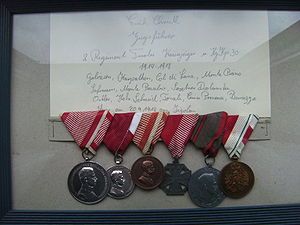 Kaiserjäger - Medals of a Kaiserjäger