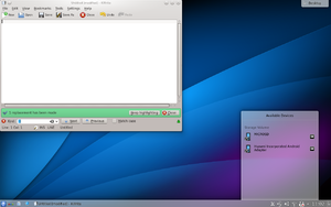 KDE 4 Current version: 4.5 Older versions: 4.0...