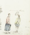 KITLV - 37C129 - Comte, Louis le - Inhabitants of Canton (Guangzhou), China - Water colour - Circa 1830.tif