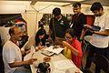 Kaberi Roychowdhury at Wikipedia Booth - Apeejay Bangla Sahitya Utsav - Kolkata 2015-10-10 5664.JPG