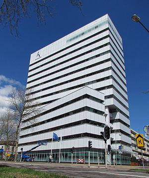 Kadaster - The headquarters of Kadaster in Apeldoorn.