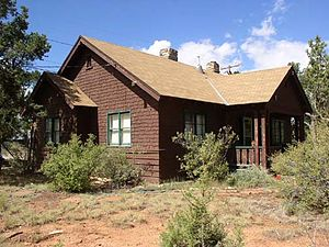 Grand Canyon Village Historic District - Kaibab Street Second Chief Ranger's House