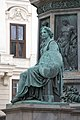 Kaiser Franz-Denkmal Hofburg Wien 2015 Sitzfiguren Stärke 09.jpg