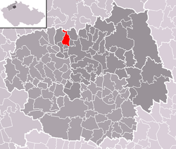 Location of Kamýk