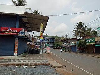 Kanichar Village in Kerala, India