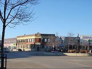 Kapuskasing - Town centre of Kapuskasing