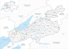 Karte von Erlach