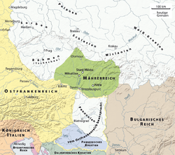 Kart over Moravia Mojmír I.png