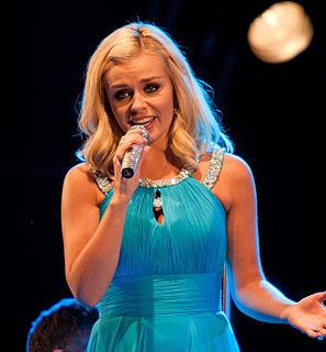 Katherine Jenkins Welsh classical crossover singer