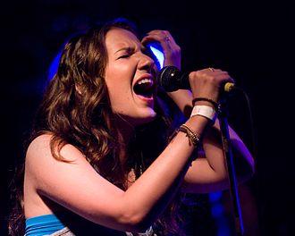 Katie Armiger - Katie Armiger performs on July 28, 2011, in Everett, Washington