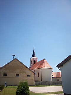 Novi Jankovci Village in Syrmia, Croatia
