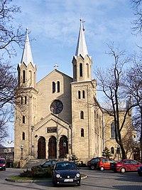Katowice - Kościół ewangelicko-augsburski - front.JPG