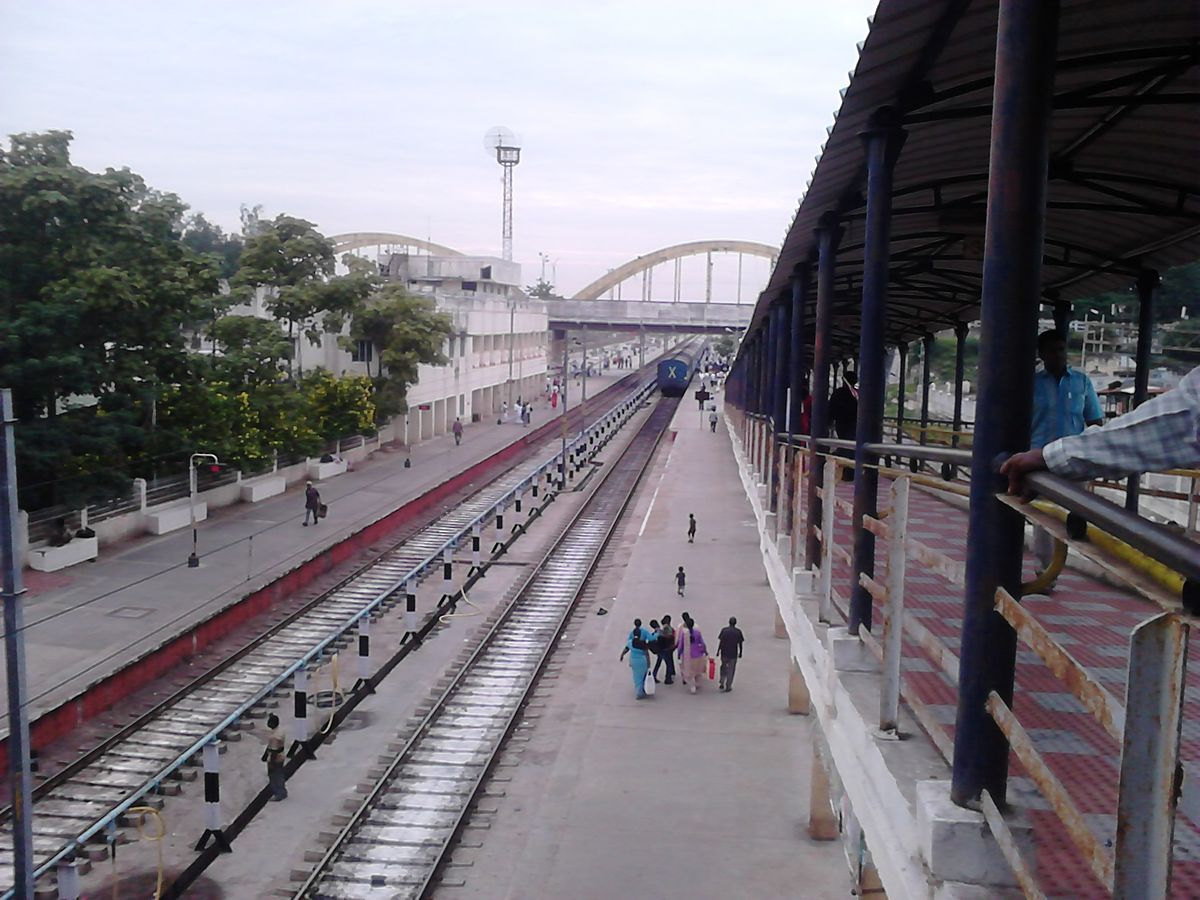 Katpadi Junction railway station - Wikipedia