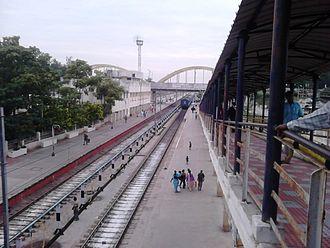 Katpadi Junction railway station - Image: Katpadi Junction