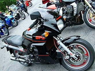Kawasaki GPZ900R - Image: Kawasaki GPZ900R Ninja 01