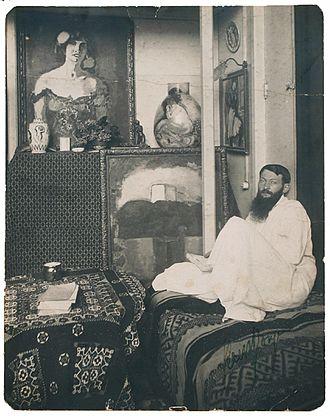 Kees van Dongen - Kees van Dongen in his studio c.1910