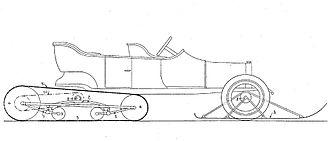 Kégresse track - Image: Kegresse pt 1913