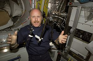 Ken Bowersox -  Bowersox pictured on the ISS