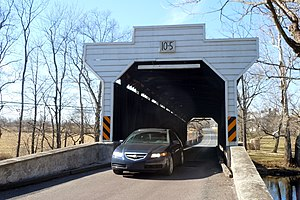 East Vincent Township, Chester County, Pennsylvania - Kennedy Covered Bridge