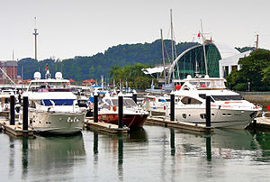 Keppel Island, Singapore - The marina on Keppel Island