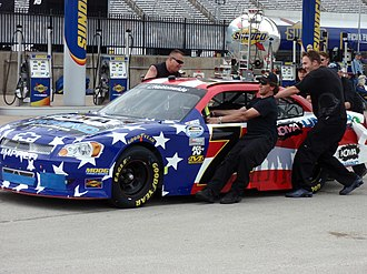 Kevin Lepage - Lepage's Mike Harmon Racing car at Texas Motor Speedway, April 2012