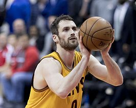 Kevin Love in 2017