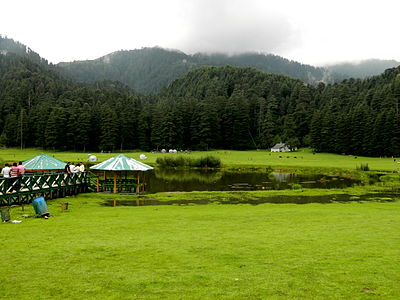 Khajjiar wikipedia for Best places for mini vacations