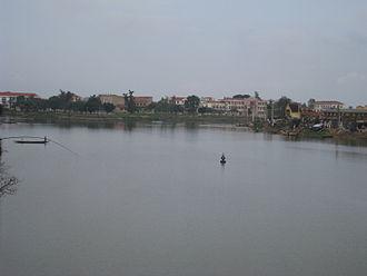 Lệ Thủy District - Kiến Giang Town, the district seat of Lệ Thủy