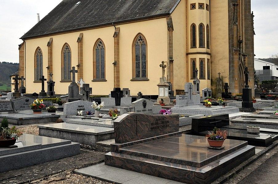 De Kierfecht an d'Kierch vun Nidderaanwen.