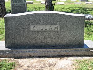 Oliver Winfield Killam - Family monument of O.W. Killam in Laredo City Cemetery
