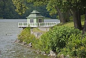 "Grönsö Manor - The ""Chinese pavilion"" in the park"