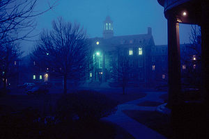 University of King's College - Image: King's Fog